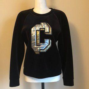 Velour Sweatshirt by Coming Step Korean Designer